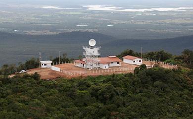 Radar meteorológico da IACIT