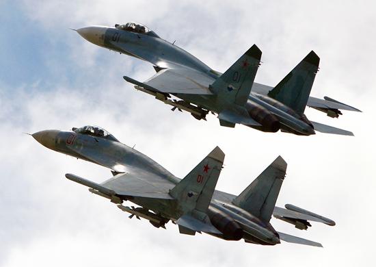 Su-27 VVS - foto Força Aérea Russa