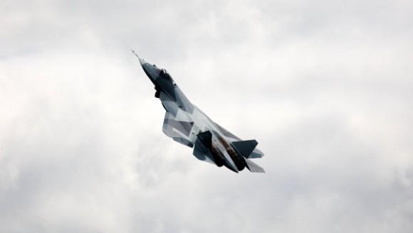 Sukhoi T-50 PAK FA - foto RIA Novosti