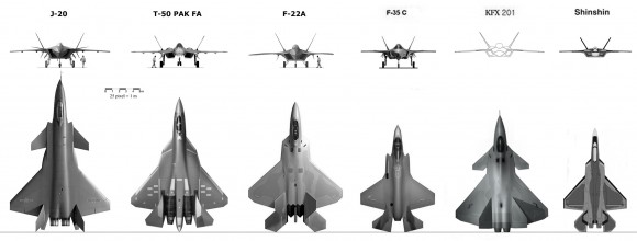 5th generation fighters