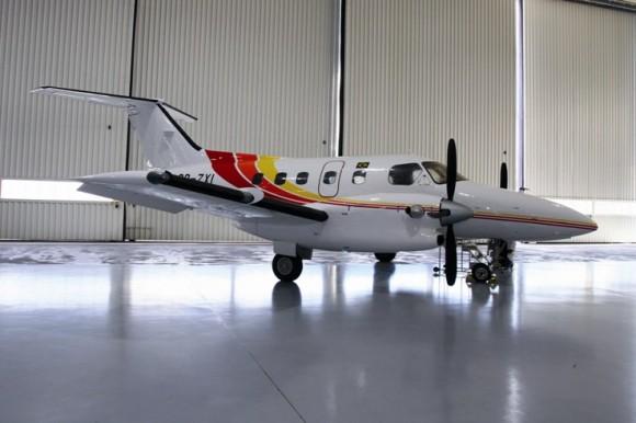 EMB 121 Xingu - foto Embraer
