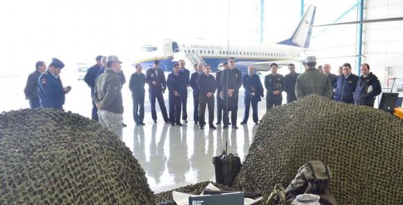 Adidos militares no Chile conhecem aeronaves da II Brigada Aérea - foto 4 FACh