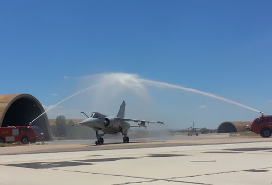 Despedida dos Mirage F1 em 23jun2013 - foto 2 Força Aérea Espanhola