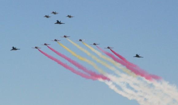 Despedida dos Mirage F1 em 23jun2013 - foto 3 Força Aérea Espanhola