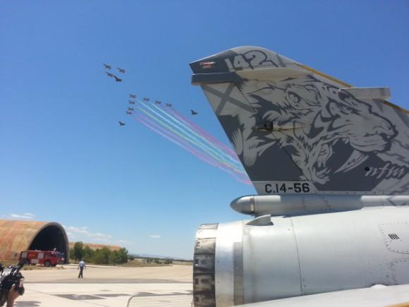 Despedida dos Mirage F1 em 23jun2013 - foto 5 Força Aérea Espanhola