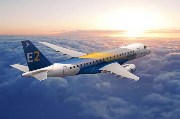 E175-E2 - imagem Embraer