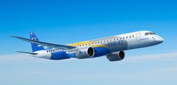 E195-E2 - recorte de imagem Embraer
