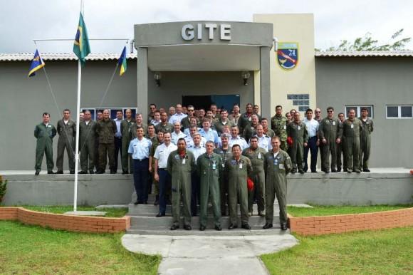 Encontro Cruzex 2013 em Natal - foto via FAA