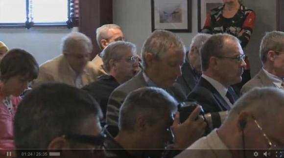 Perguntas e respostas Eric Trappier no Paris Air Show 2013 - cena vídeo Dassault