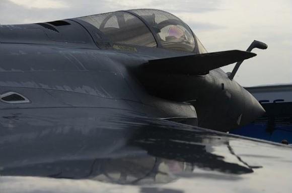 Rafale em Le Bourget 2013 - foto Dassault