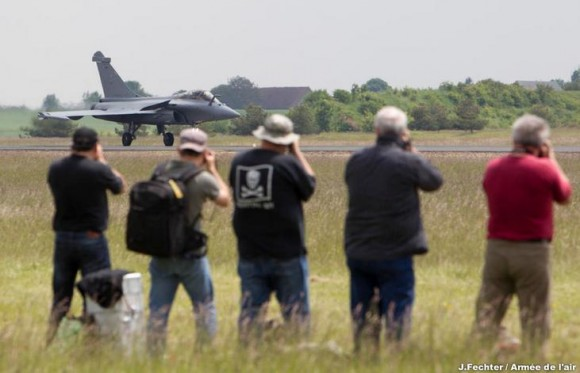 Rafale em show aéreo na Base de Châteaudun - foto 2 Força Aérea Francesa