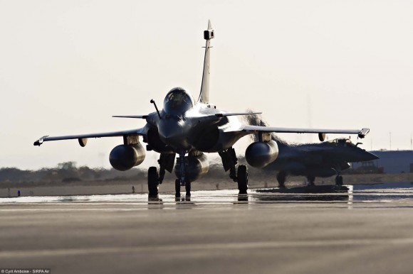 Rafale - foto Cyril Amboise - Sirpa Air via Dassault