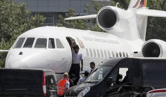 Evo Morales Jet