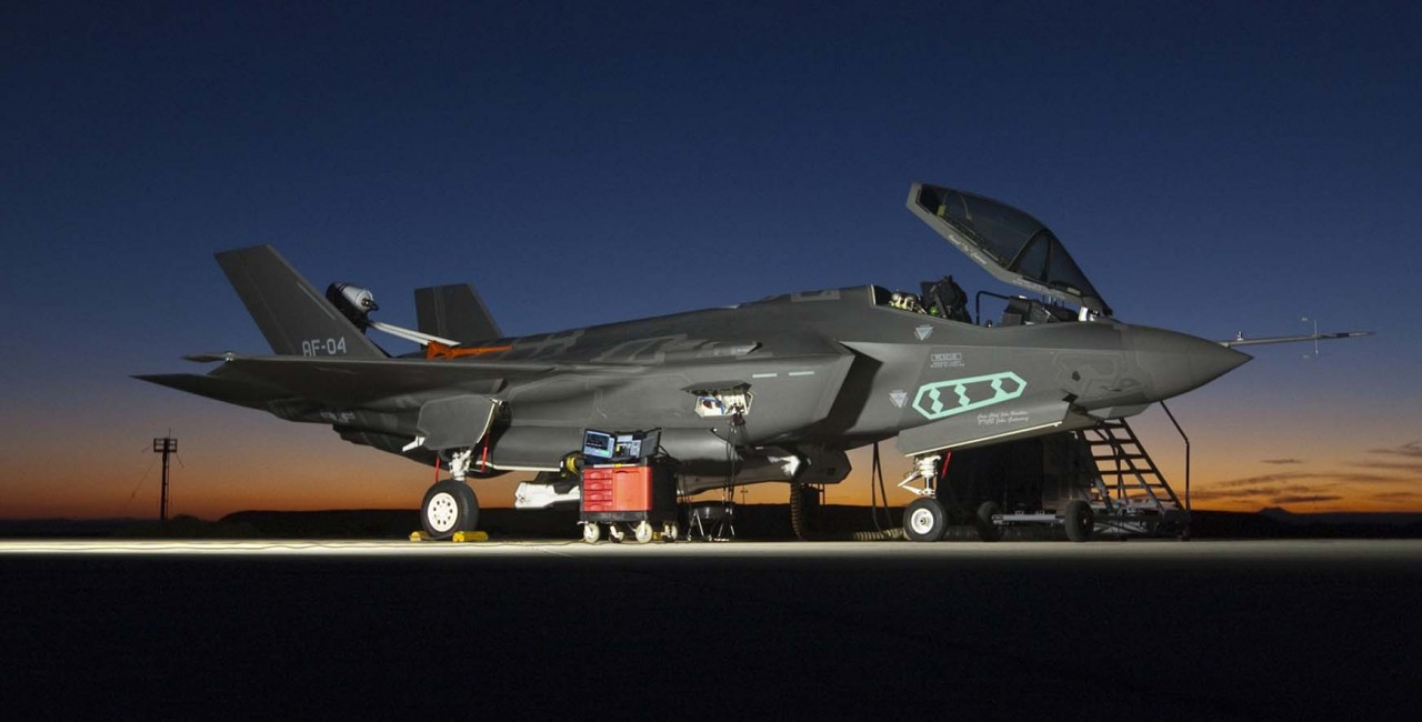 F-35 'pushes the envelope'