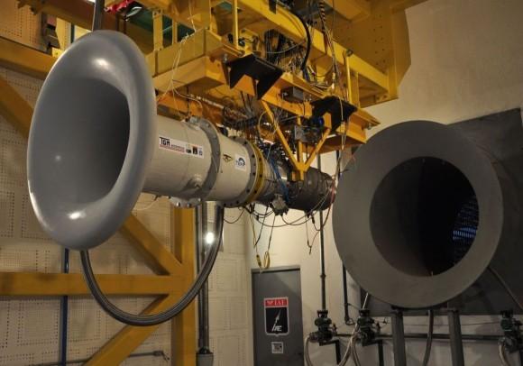 Teste turbina TGM no IAE - foto FAB
