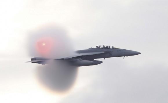caça F-18 Super Hornet ataca base de Williamtown após curso de instrutores de caça - foto 2 MD Australia