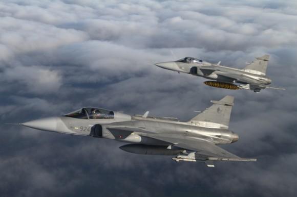 Gripen - foto Ministério da Defesa da República Tcheca