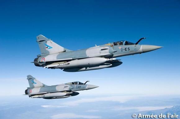 Mirage 2000-5 do esquadrão Cigognes - foto 2 Força Aérea Francesa