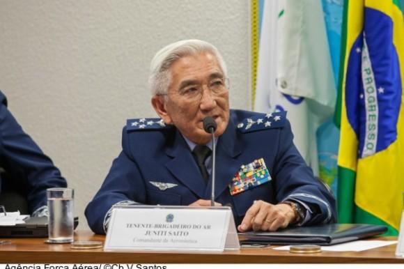 Saito no Senado - foto FAB - agência Força Aérea
