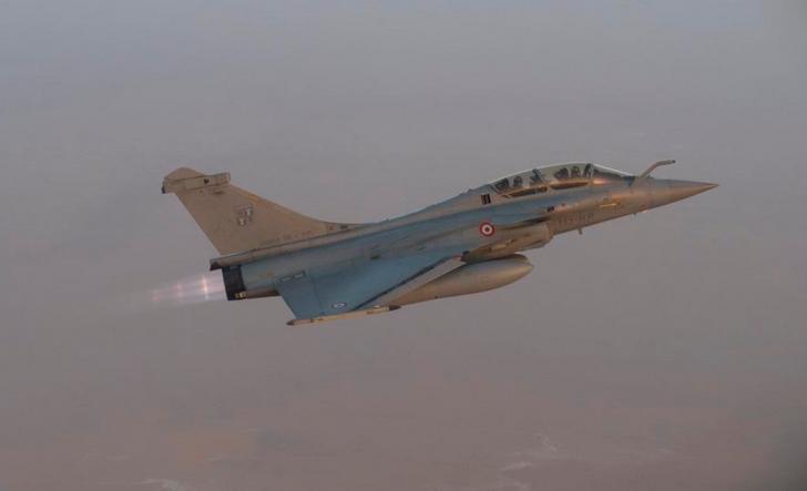 Caças Rafale fazem desdobramento em Faya-Largeau - foto 2 Força Aérea Francesa