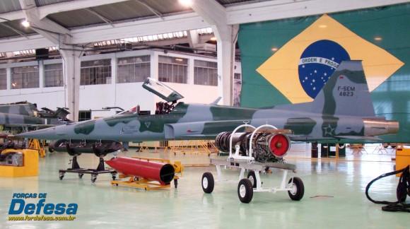 F-5EM 4823 no Domingo Aéreo 2013 PAMA-SP - Foto Nunão - Poder Aéreo - Forças de Defesa