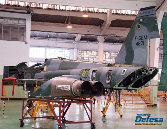 F-5EM 4871 no Domingo Aéreo 2013 PAMA-SP - Foto Nunão - Poder Aéreo - Forças de Defesa