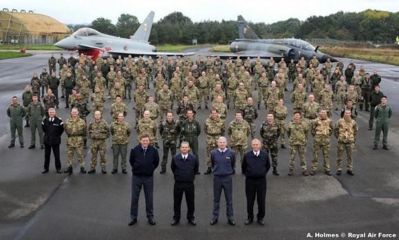 Joint Warrior 13-2 - foto Força Aérea Francesa