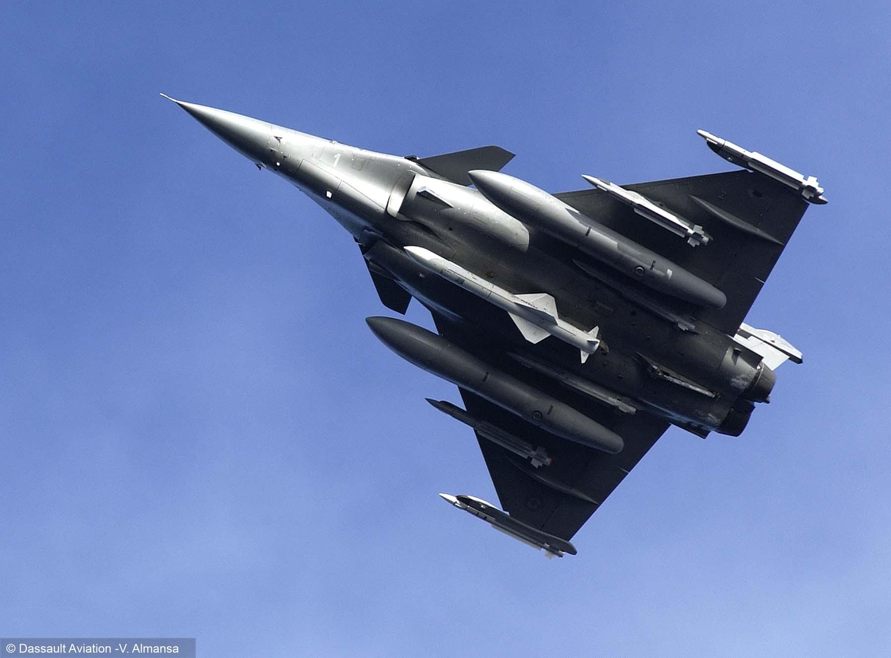 Rafale - foto V Almansa - Dassault