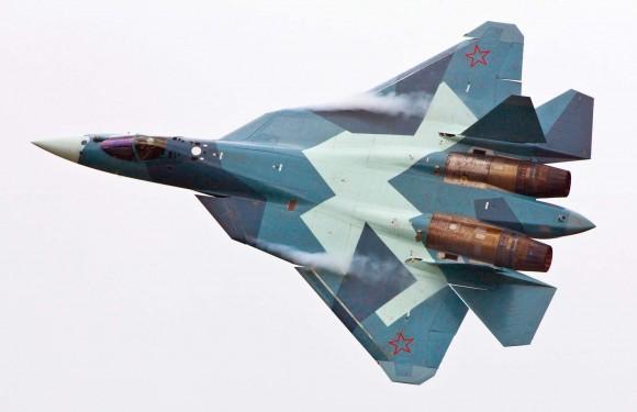 Sukhoi T-50 - protótipo - foto Sukhoi