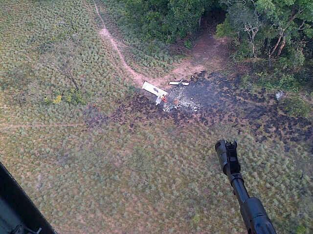 aeronave derrubada pela Venezuela 2