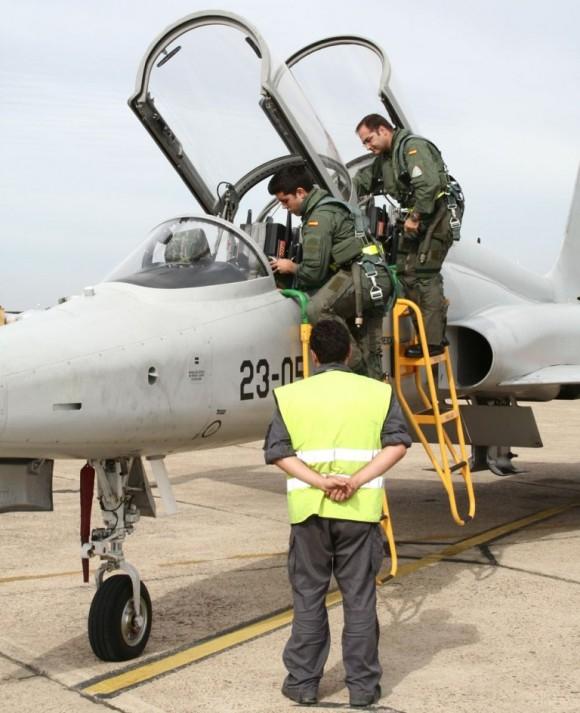 F-5M da Ala 23 - foto 2 Força Aérea Espanhola
