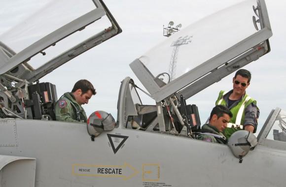F-5M da Ala 23 - foto Força Aérea Espanhola