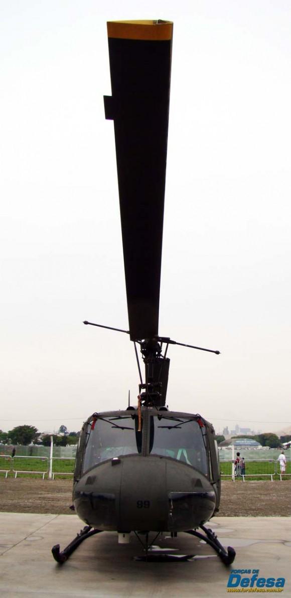 H-1H Iroquois - Sapão - da FAB - foto Nunão - Forças de Defesa