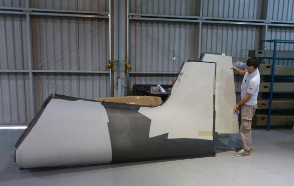 T-XC - peças para protótipo - foto Novaer