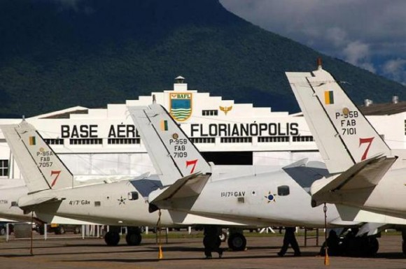 Base Aérea de Florianópolis - foto divulgação STI-BAFL via Diário Catarinense