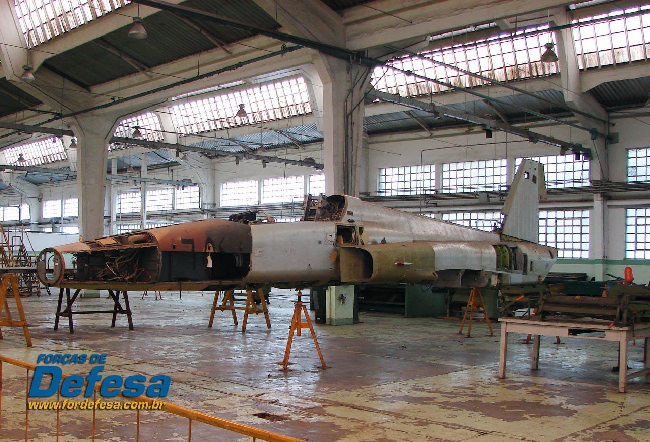 F-5E 4879 no PAMA-SP - foto POGGIO