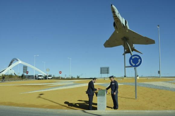 Phantom II monumento em Torrejón de Ardoz - foto Força Aérea Espanhola