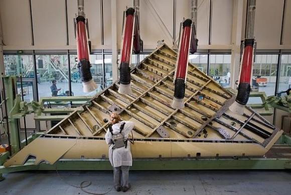 Produção de asas de Rafale em Martignas - foto 2 Dassault