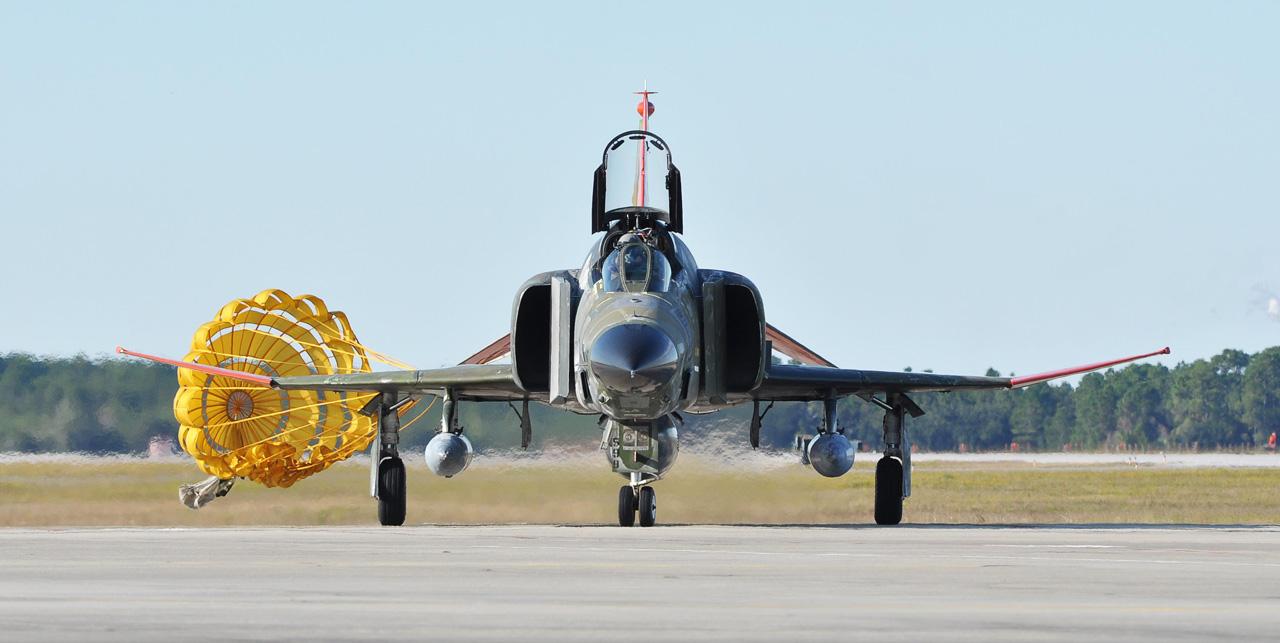 the last QF-4 - PHOTO USAF