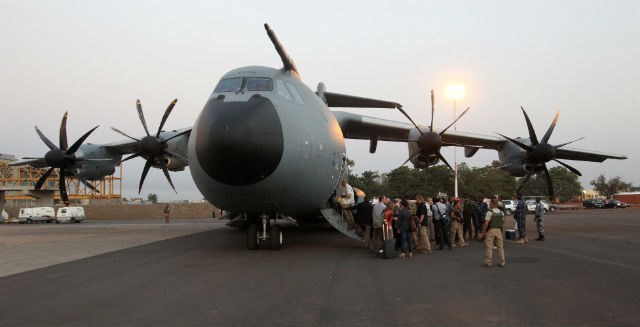 A400M no Mali