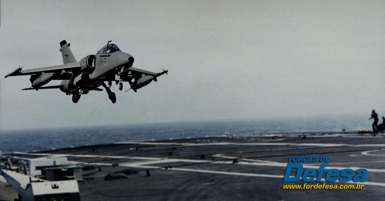 AMX naval - foto montagem revista forças de defesa
