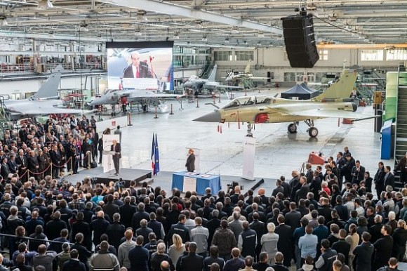 Lançamento Rafale F3R em Merignac - foto 2 Dassault