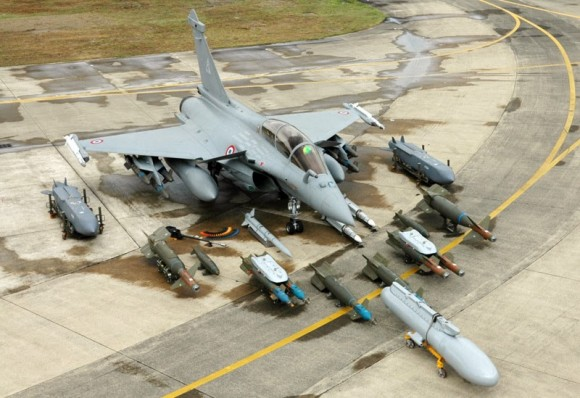 Rafale weapons