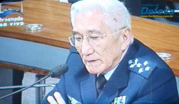 Saito na CRE - captação da imagem da TV Senado - Forças de Defesa