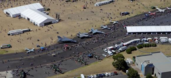 100 anos aviação militar Austrália na base de Williams - foto Dept Def Australia