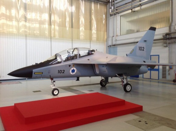 First M-346 Israel Air Force