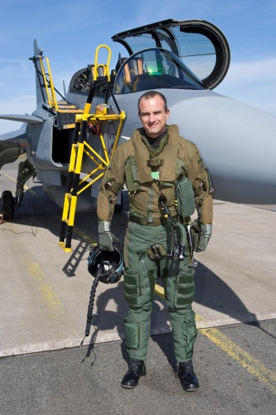 Piloto de provas FAB - 2