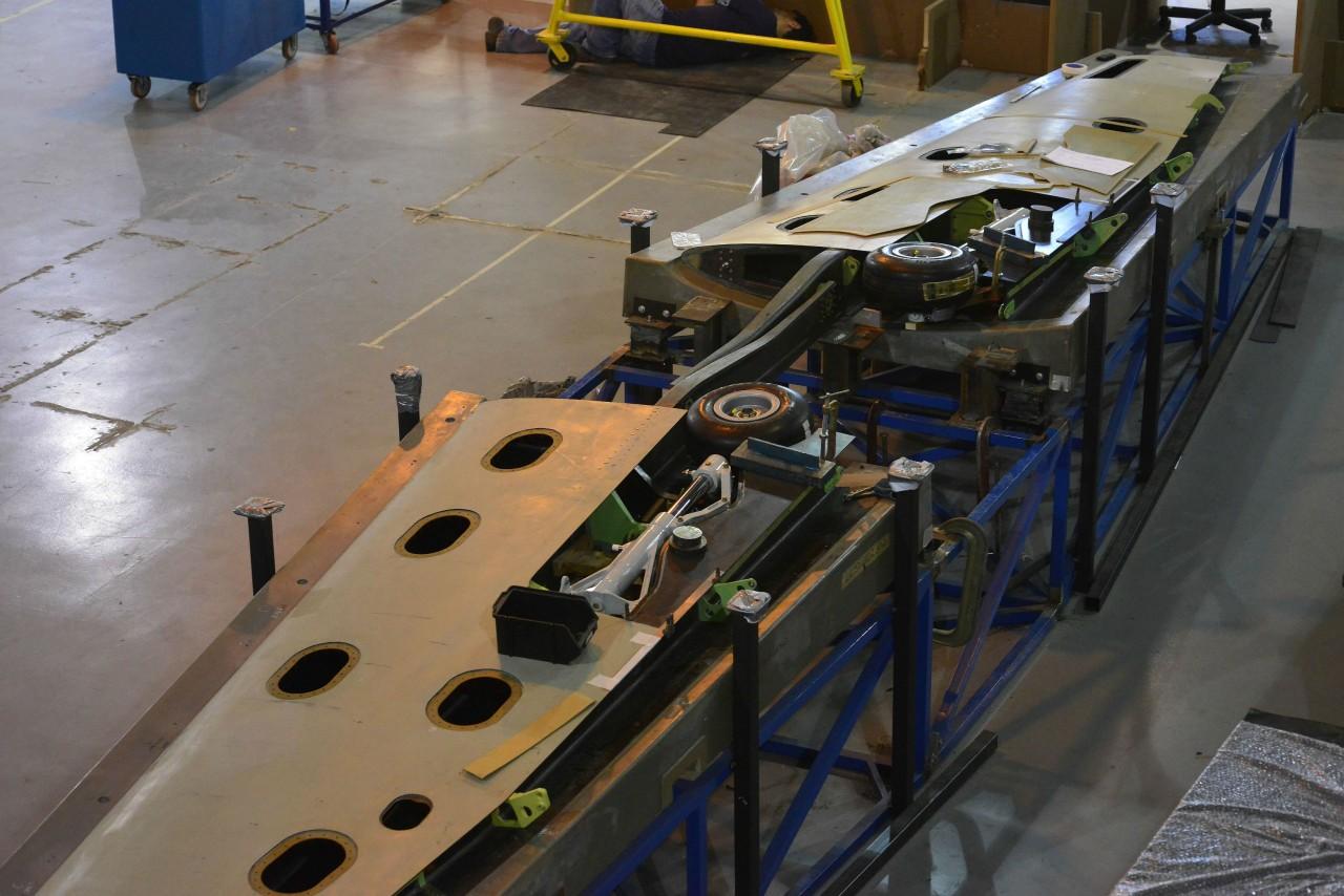 T-Xc montagem do prototipo 1 - fono novaer