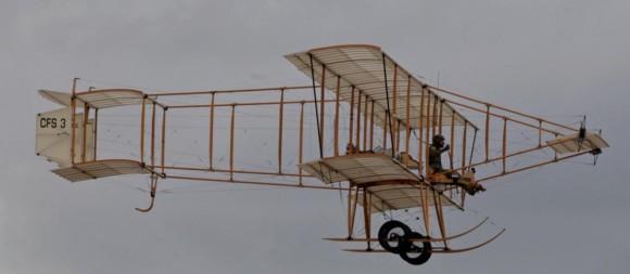 réplica do Bristol Boxkite se apresenta nos 100 anos aviação militar Austrália - foto 2 Dept Def Australia