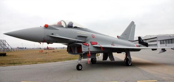 roll out do primeiro Eurofighter Tranche 3 italiano - foto Eurofighter